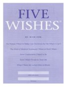 Five Wishes Living Will, offered by Susana Sori at HR Shaman.
